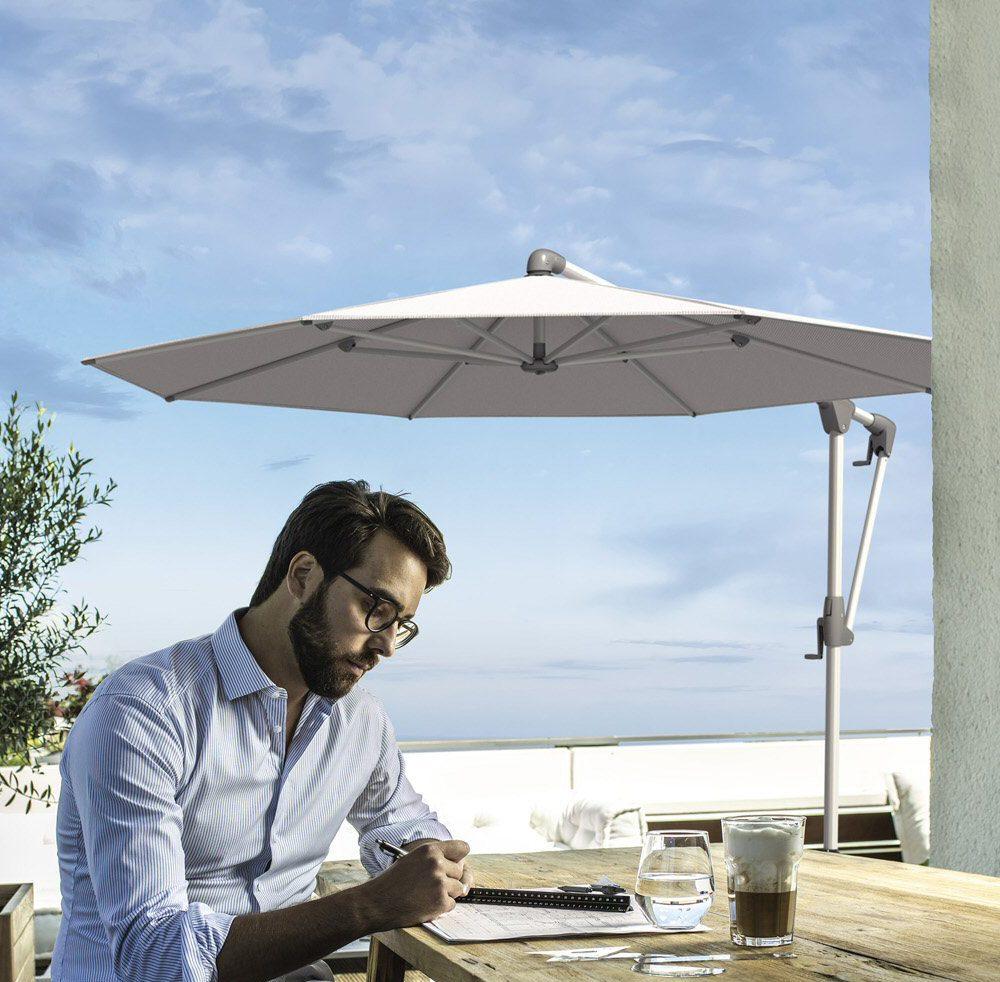 AEL Glatz Sunwing Casa Round Cantilever Parasol