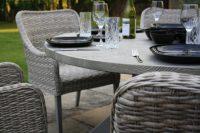 Max Green Bali 6 Seater Dining Set