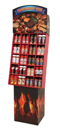 BBQ Gourmet - 120 Unit Large Display
