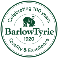Barlow Tyrie 100 Years logo
