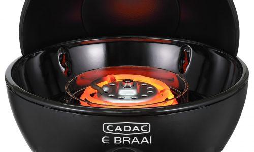 Cadac E Braai the electric BBQ - open