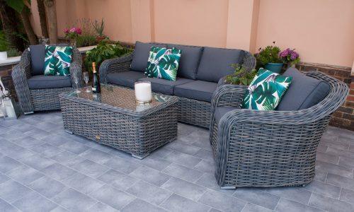 Firmans Miami 3 Seater Sofa Set