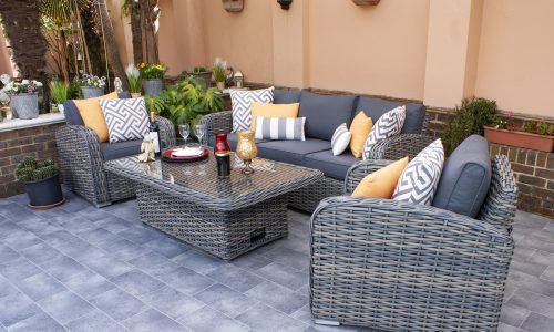 Firmans Miami Club 3 Seater Sofa Set