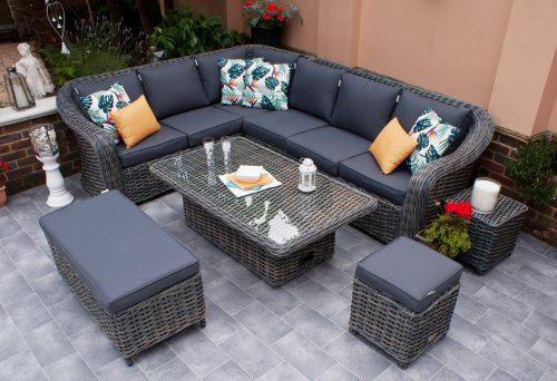 Firmans Miami Grande Corner Dining Set