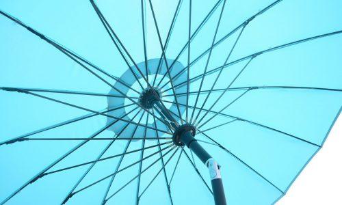 Glencrest Stürdi Parasol in blue