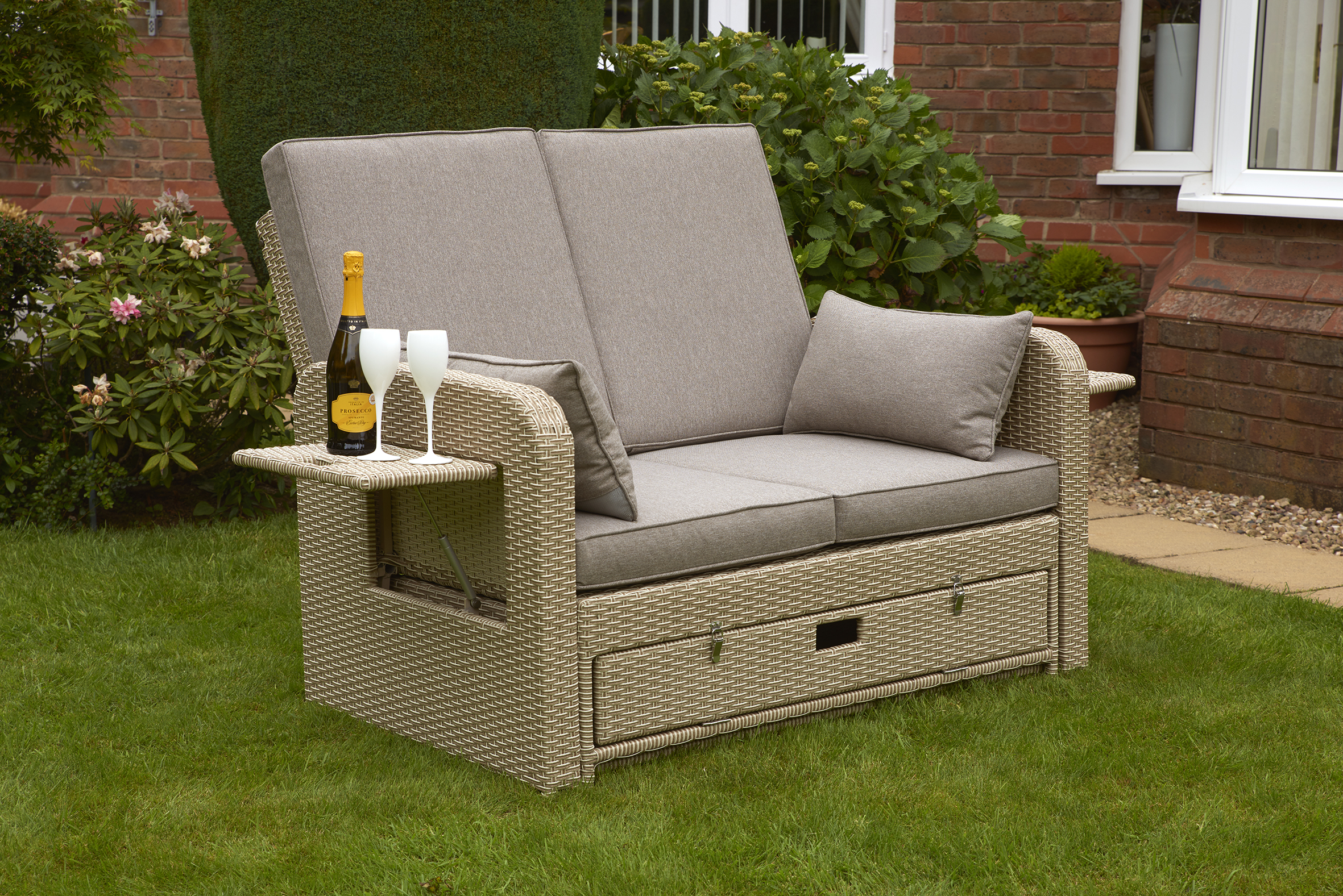 Glendale AMIENS SUNLOUNGER 1