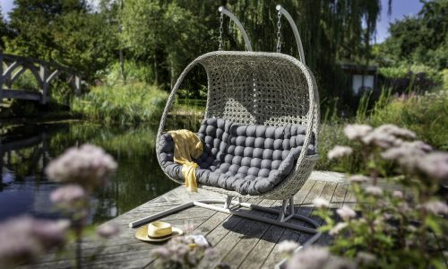 Heritage Ash Double Hanging Chair