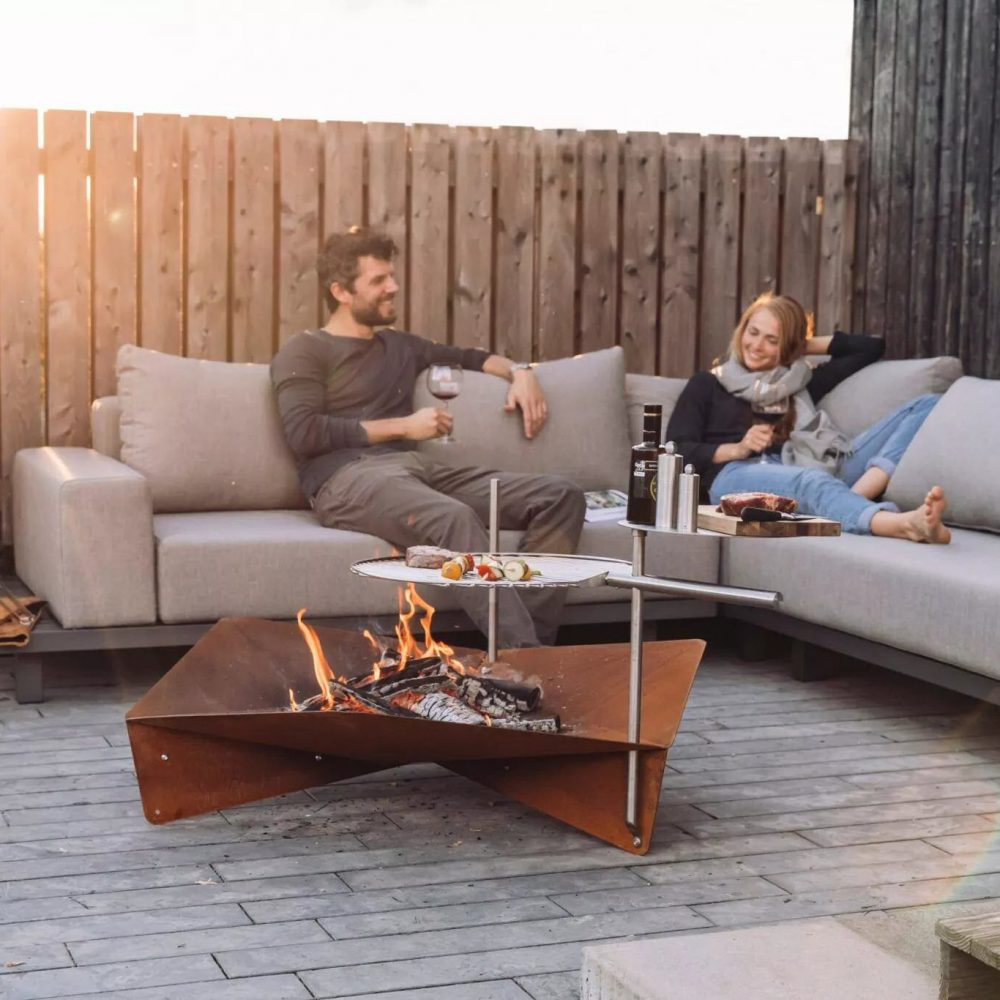 Höfats Triple Designer Fire Pit