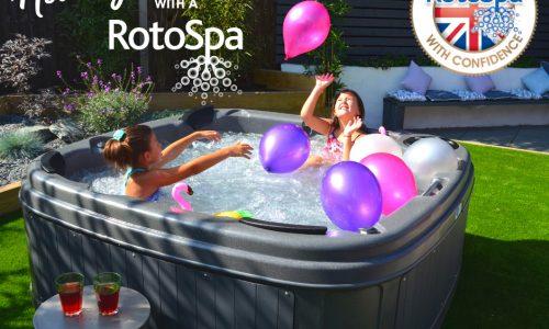 Holiday at home with a RotoSpa DuraSpa