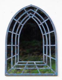 Jonart Design Antique Blue Church Outdoor Mirror