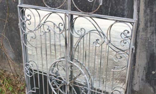 Jonart Design Gated Garden Outdoor Mirror