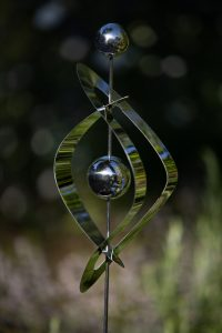 Jonart Design Stainless Steel Large Single Eye Ornament (6 Pieces)