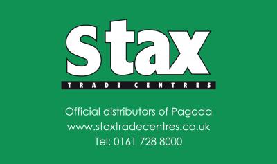 Pagoda Stax Trade Centres logo