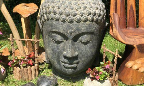 Tripod Home Buddha Head