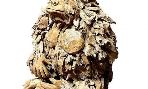 Tripod Home Wood Chip Gorilla