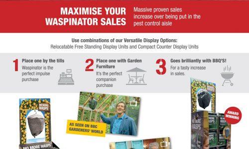 Waspinator advert