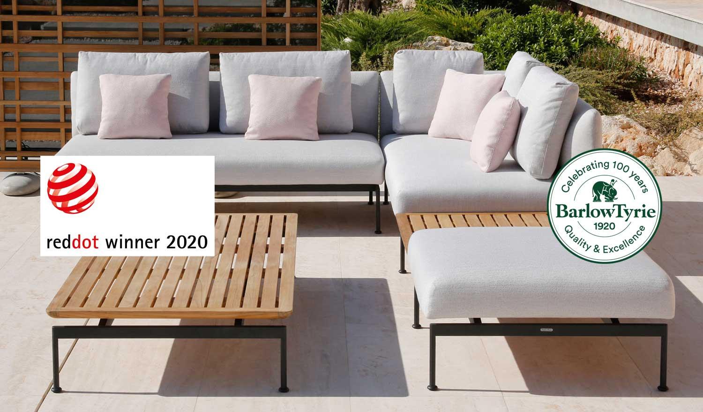 Barlow Tyrie Celebrate Red Dot Design Award in 2020