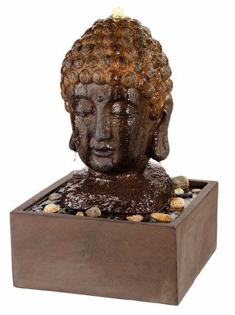 kaemingk-rustic-buddha-fountain