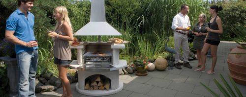 Buschbeck Rondo Outdoor Fireplace