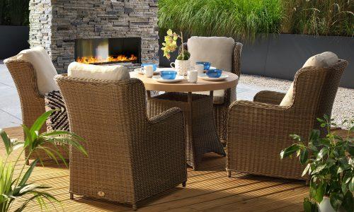 Desser Clifton 4 seat dining set
