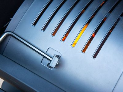 Direct Flame Searing Technology External Control Lever