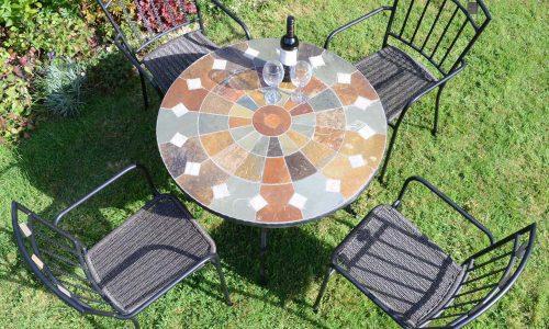 Europa Leisure Exclusive Garden - Granada table with Malaga chairs