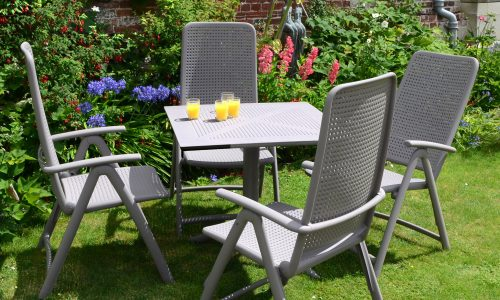 Europa Leisure Nardi - Clip table with Darsena chairs