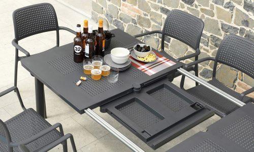 Europa Leisure Nardi - Libeccio table with Bora chairs