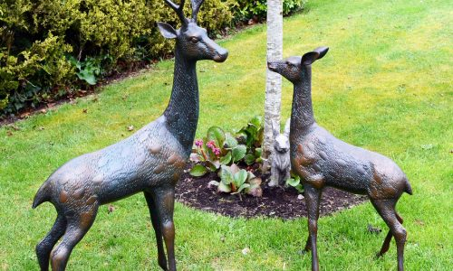 Europa Leisure Solstice Sculptures - Deer pair large
