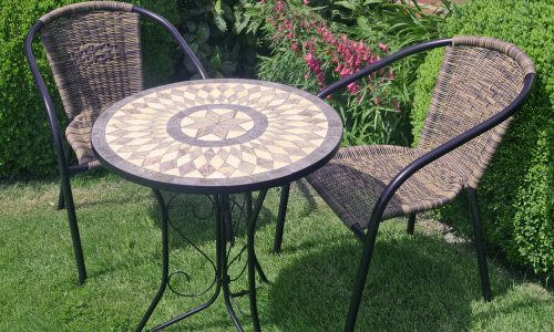 Europa Leisure Summer Terrace - Brava bistro table with San Remo chairs
