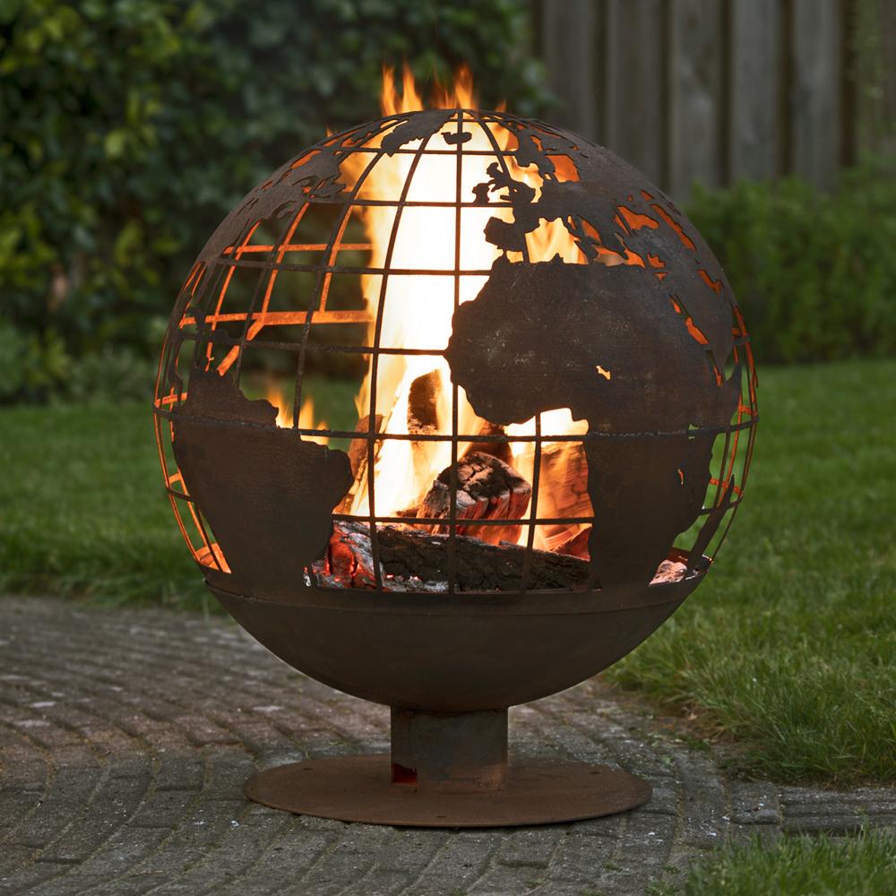 Fallen Fruits Fire Globe - Earth
