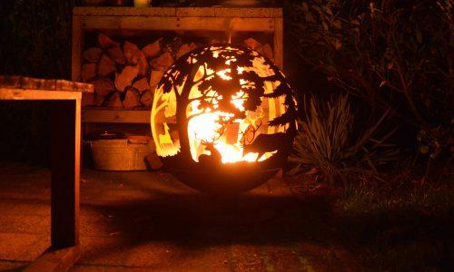 Fallen Fruits Fire Globe FF261 - Forrest