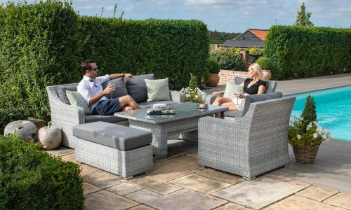 Maze Ascot 3 Seat Sofa Dining