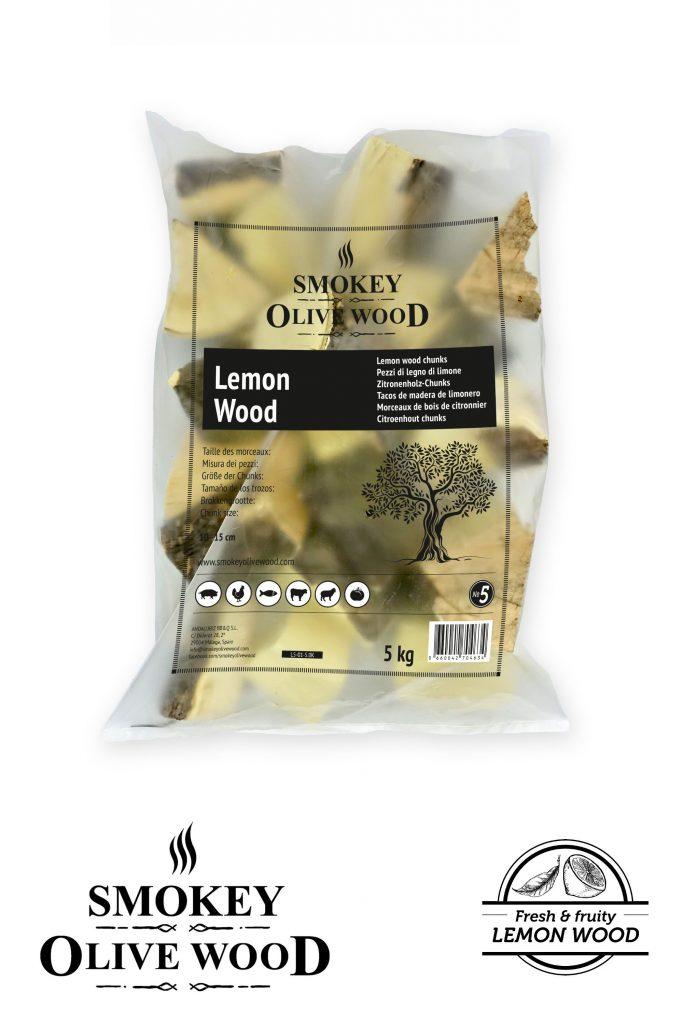Smokey Olive Wood Lemon Wood