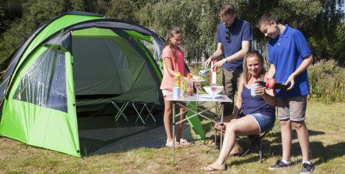Summit family tent