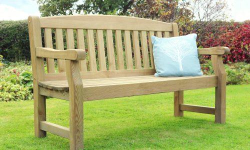 Zest 4 Leisure Emily 3 Seater Garden Bench